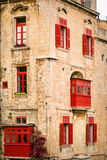 Traditional Maltese architecture Stock Photos