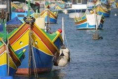 Traditional Maltese boat Royalty Free Stock Photo