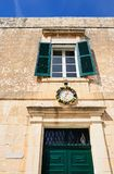 Maltese building, Mdina. Royalty Free Stock Images