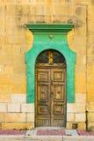 Traditional maltese door Royalty Free Stock Photo