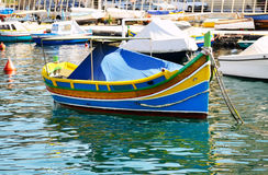 The traditional Maltese Luzzu boat. Malta Royalty Free Stock Image