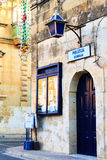 Traditional Maltese Police station, Xewkija, Malta. Traditional Maltese Police station, Xewkija, Gozo, Malta Stock Images