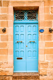 Traditional Maltese street scene, Royalty Free Stock Photography