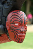 Traditional maori carving, New Zealand Royalty Free Stock Photos