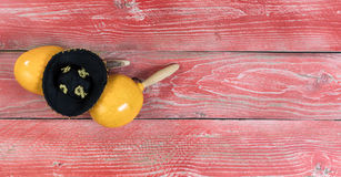 Traditional maracas and sombrero for Cinco de Mayo holiday celeb Stock Photography