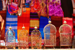 Traditional market in Chefchaouen, Morocco Royalty Free Stock Photography