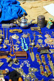 Traditional market in Chefchaouen, Morocco Royalty Free Stock Photos