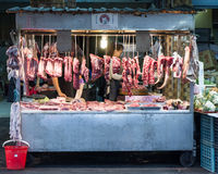 Traditional market in New Taipei City Royalty Free Stock Photography