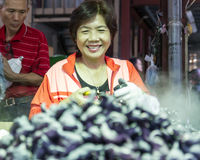 Traditional market in New Taipei City Stock Photography