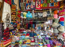 Traditional Market in Peru Royalty Free Stock Images
