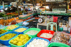 Traditional markets in Thailand Royalty Free Stock Images