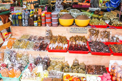 Traditional markets in Thailand Stock Images