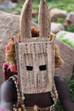 Traditional mask dancer in Dogon Village Mali Royalty Free Stock Photo