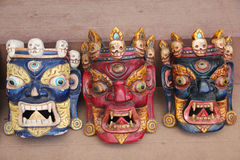 Traditional masks, Nepal Stock Image