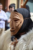 Traditional masks of Sardinia Royalty Free Stock Photography