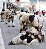 Traditional masks of Sardinia. Stock Photography