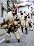 Traditional masks of Sardinia. Royalty Free Stock Photography