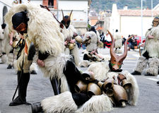 Traditional masks of Sardinia. Stock Photo