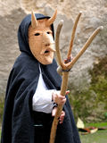 Traditional masks of Sardinia. Stock Images