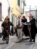 Traditional masks of Sardinia. Stock Image