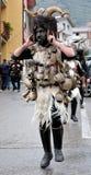 Traditional masks of Sardinia. Royalty Free Stock Photography