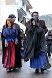 Traditional masks of Sardinia. Stock Photo
