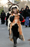 Traditional masks of Sardinia. Royalty Free Stock Image