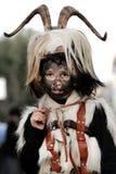 Traditional masks of Sardinia. Royalty Free Stock Photos