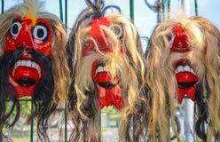 Traditional masks, Yogyakarta, Java, Indonesia Stock Photography