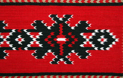 Traditional materials and bulgarian embroidery Royalty Free Stock Image