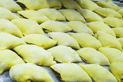 Traditional Maultaschen royalty free stock photos
