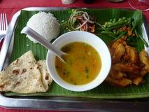 Traditional Mauritian Food. Mauritius Island stock photos