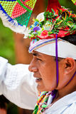 Traditional Mayan Flyer Man in the Dance of the Flyers Ceremony Royalty Free Stock Photography