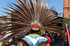 Traditional Mayan headdress Royalty Free Stock Photos