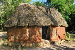 Traditional mayan home Royalty Free Stock Image
