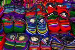 Traditional mayan textiles Stock Images