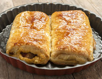 Traditional meal from Bulgaria - Banica Royalty Free Stock Images