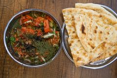 Traditional meals of Gaziantep stock photos