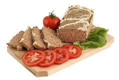 Traditional meat dish for Easter (drob) Royalty Free Stock Photo