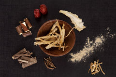 Traditional medical herbs. Stock Photography