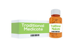Traditional Medicate concept Royalty Free Stock Images