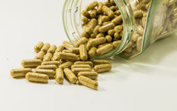 Traditional medicine capsules Royalty Free Stock Photography