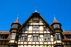Traditional medieval german house Royalty Free Stock Photography