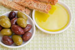 Traditional Mediterranean appetizer Royalty Free Stock Image