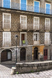 Traditional mediterranean stone house in Corsica. Stock Images