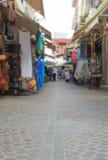 Traditional mediterranean street. Stock Image