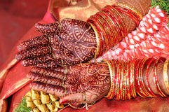 Traditional Mehndi  Royalty Free Stock Images