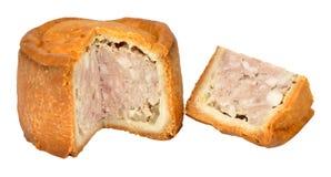 Traditional Melton Mowbray Pork Pie Royalty Free Stock Photo