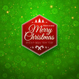 Traditional Merry Christmas and Happy New Year car Royalty Free Stock Photography