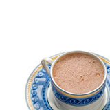 Traditional mexican chocolate cup isolated Stock Photography